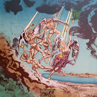 Return of Ulysses 1977 Limited Edition Print by Salvador Dali