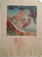 Return of Ulysses 1977 Limited Edition Print by Salvador Dali - 1
