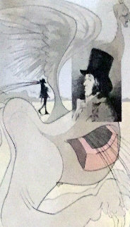 Les Caprices De Goya 1975 Limited Edition Print - Salvador Dali