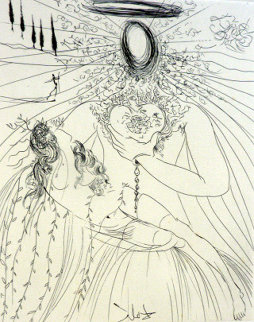 To Every Captive Soul 1974 Limited Edition Print by Salvador Dali