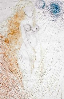 Hommage a Albrecht Durer Birth of Venus 1971 Limited Edition Print by Salvador Dali