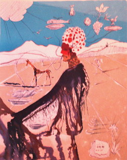 Earth Goddess 1980 Limited Edition Print - Salvador Dali