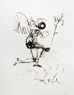 Symbols Guiding Angel 1970 (Early) Limited Edition Print by Salvador Dali - 0