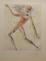 Hippies the Cosmonaut 1969 (Early) Limited Edition Print by Salvador Dali - 3