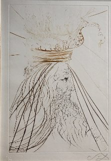 Tristan Et Iseult King Marc 1970 (Early) Limited Edition Print - Salvador Dali