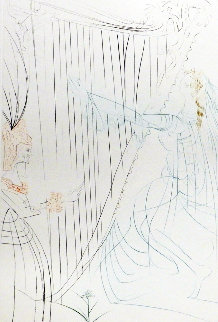 Tristan Et Iseult Queen Iseult And Her Daughter 1970 (Early) Limited Edition Print - Salvador Dali