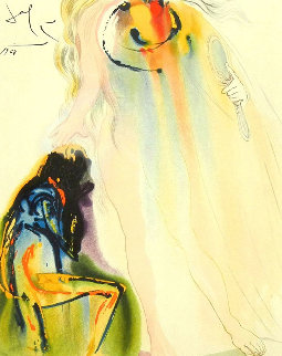 Adelaide's Promise 1968 (Early)  Limited Edition Print by Salvador Dali