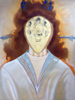 l'immortalite From the Portfolio Alchime Des Philosophes 1975 Limited Edition Print - Salvador Dali