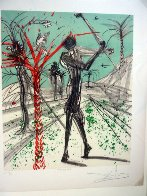 Sports Set of 2 Lithographs 1973 Limited Edition Print by Salvador Dali - 2