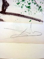 Sports Set of 2 Lithographs 1973 Limited Edition Print by Salvador Dali - 4