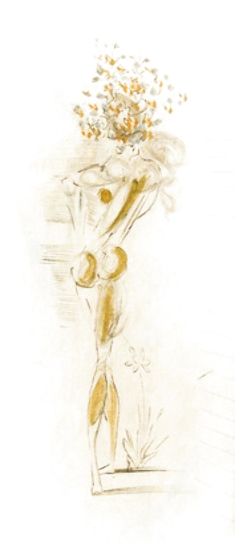 Petites Nus (From Appollinaire) D 1972 Limited Edition Print by Salvador Dali