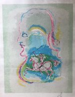 Dreams of a Horseman 1979 Limited Edition Print by Salvador Dali - 1