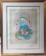 Dreams of a Horseman 1979 Limited Edition Print by Salvador Dali - 2
