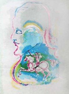 Dreams of a Horseman 1979 Limited Edition Print - Salvador Dali
