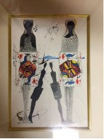 Alice in Wonderland Suite: Queens Croquet Ground 1968 (Early) Limited Edition Print by Salvador Dali - 1