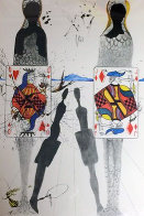 Alice in Wonderland Suite: Queens Croquet Ground 1968 (Early) Limited Edition Print by Salvador Dali - 0