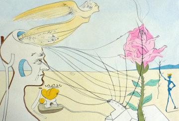 Dream (La Rose) 1975 Limited Edition Print by Salvador Dali