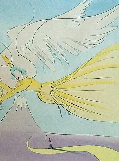 Hagoromo, Japanese Fairy Tales Limited Edition Print by Salvador Dali