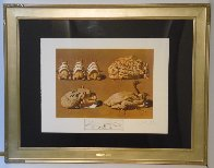 Les Diners De Gala - Les Caprices Pinces Princiers 1977 Limited Edition Print by Salvador Dali - 1