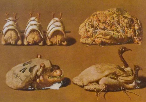 Les Diners De Gala - Les Caprices Pinces Princiers 1977 Limited Edition Print by Salvador Dali