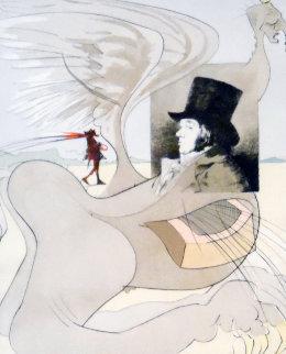 Les Caprice De Goya 1977 Limited Edition Print - Salvador Dali