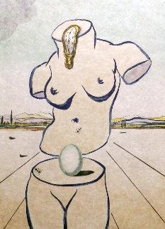 Birth of Venus 1970 Limited Edition Print by Salvador Dali