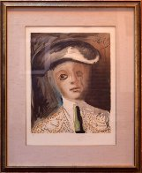 Portrait of a Bullfighter From the Carmen Suite Limited Edition Print by Salvador Dali - 1
