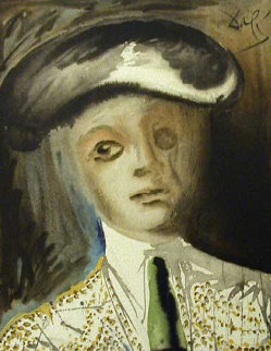 Portrait of a Bullfighter From the Carmen Suite Limited Edition Print by Salvador Dali