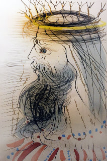 King Solomon  1971 Limited Edition Print by Salvador Dali