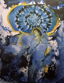 Galutska Corpusculaire Ultra Surrealiste  AP 1971 Limited Edition Print - Salvador Dali