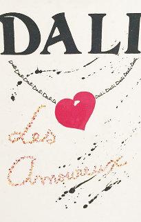 Les Amoureux Suite of 3 1979 Limited Edition Print - Salvador Dali