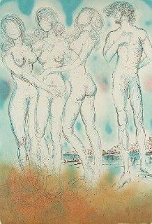 Mythology Suite: Judgment of Paris 1973 Limited Edition Print by Salvador Dali
