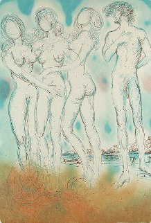 Mythology Suite: Judgment of Paris 1973 Limited Edition Print by Salvador Dali