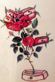 Roses - Floral Suite 1972 Limited Edition Print by Salvador Dali
