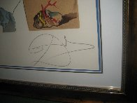 Conquest of the Cosmos  1974  (Martian Dali Equipped With A Double Holo Electronic Microsc Limited Edition Print by Salvador Dali - 3