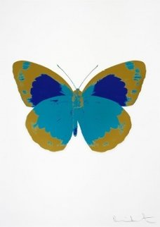 Souls II - Topaz - Oriental Gold - Westminster Blue (Oc 7882) 2010 Limited Edition Print - Damien Hirst