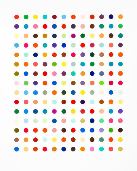 Ethidium Bromide Aqueous Solution 2005 Limited Edition Print by Damien Hirst