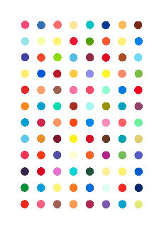 Xylene Cyanol Dye Solution AP 2005 Limited Edition Print by Damien Hirst