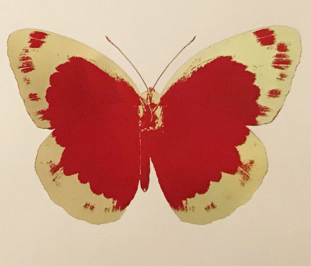 The Souls II, Suite of 3 Prints 2012 by Damien Hirst