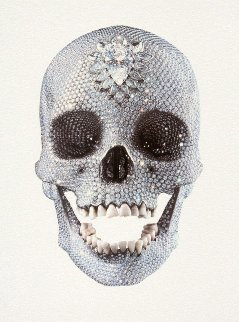 For the Love of God White 2011  Limited Edition Print - Damien Hirst