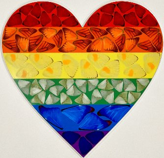 Butterfly Heart (Small) 2020 Limited Edition Print - Damien Hirst