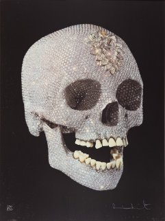 For the Love of God Diamond Skull 2007 Limited Edition Print by Damien Hirst