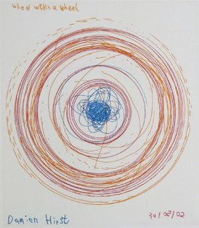 Spin, Wheel Within a Wheel 2002 Limited Edition Print by Damien Hirst