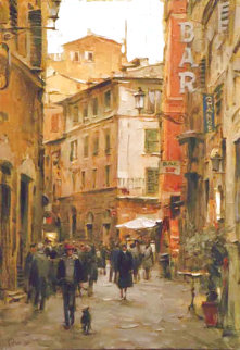 Stroll Through the City Limited Edition Print - Dmitri Danish