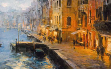 Venice Evening Limited Edition Print by Dmitri Danish