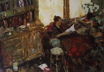 Young Poet 1995 Limited Edition Print - Dan McCaw