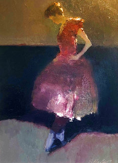 Dancer 2004 33x28 Original Painting - Dan McCaw