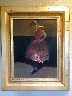 Dancer 2004 33x28 Original Painting by Dan McCaw - 1