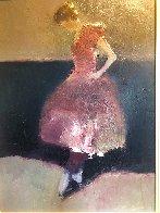 Dancer 2004 33x28 Original Painting by Dan McCaw - 3
