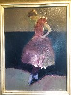 Dancer 2004 33x28 Original Painting by Dan McCaw - 2